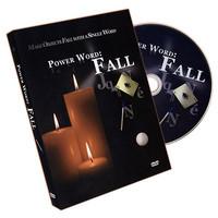 power word fall by matt sconce dvd gimmicks