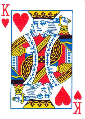 Single Double Faced Bicycle Brand Playing Card