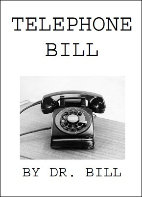 telephone bill by dr bill pdf instant download