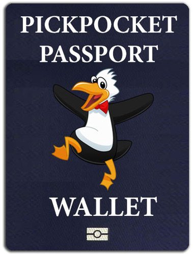 The Pickpocket Passport Wallet By Alan Wong And Gregory Wilson