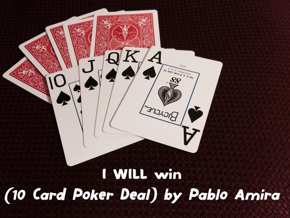Poker card winners
