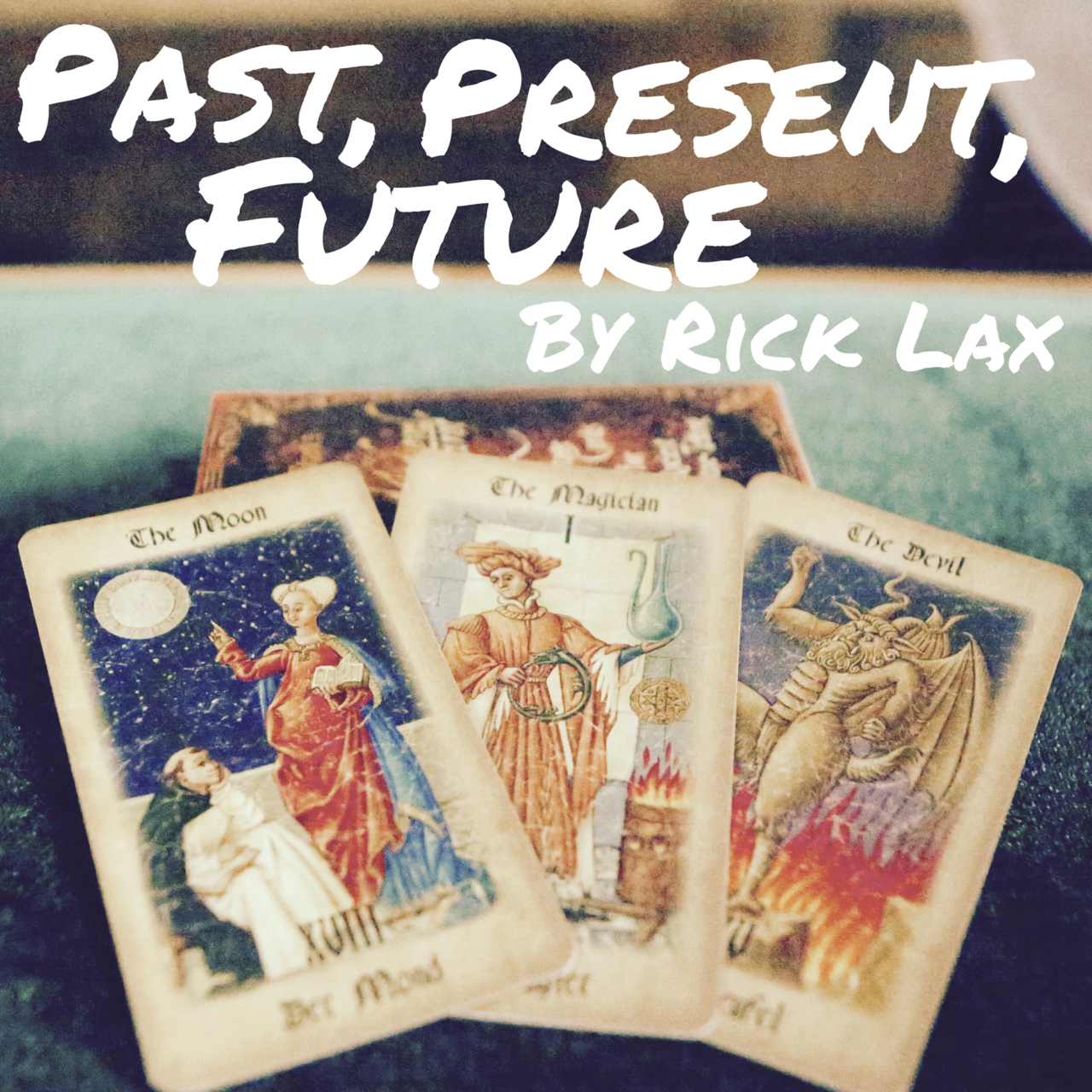 Past the present and future book i Foto