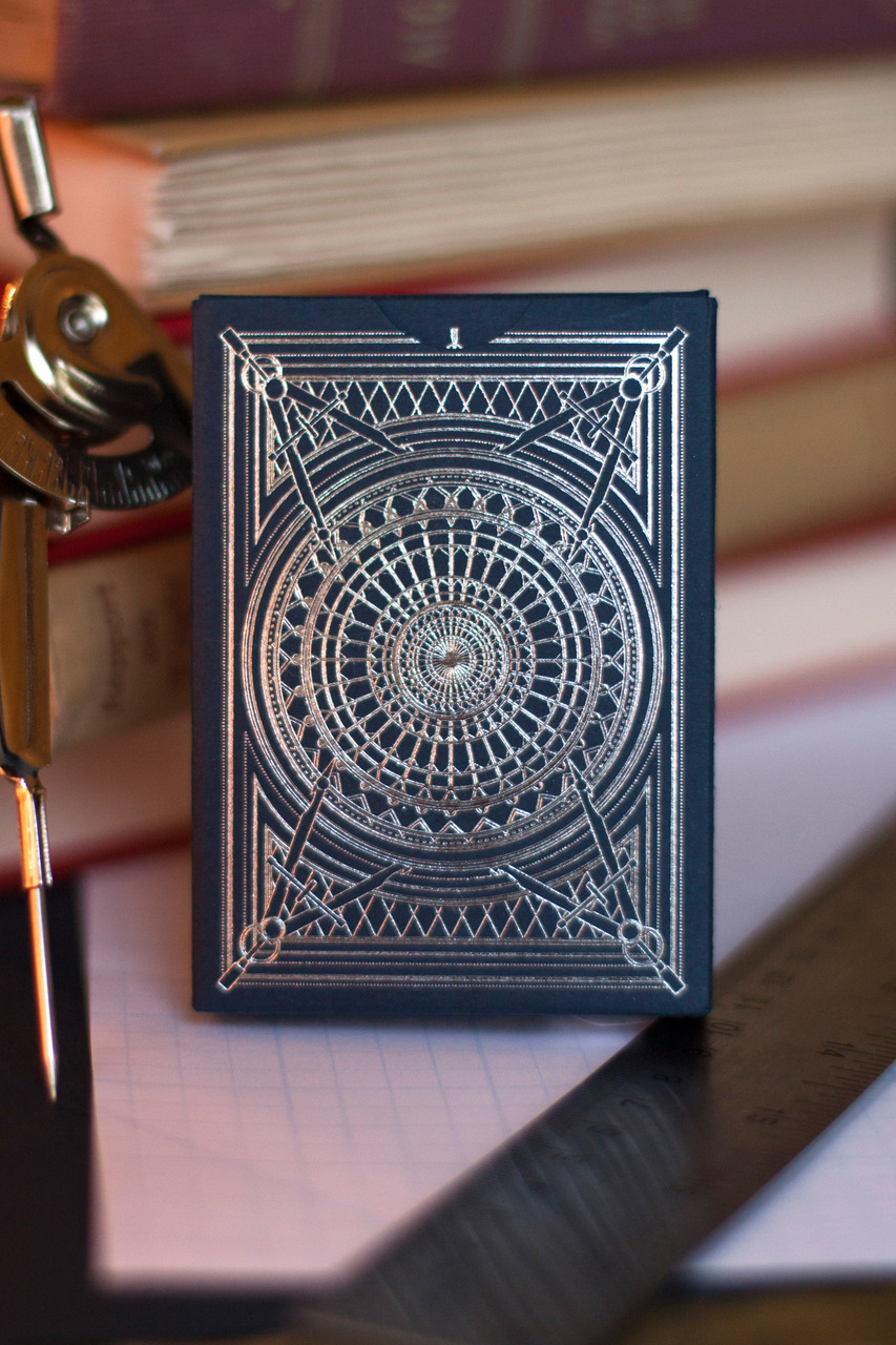 Card Deck With Guidebook By: Architect Playing Cards Single Deck