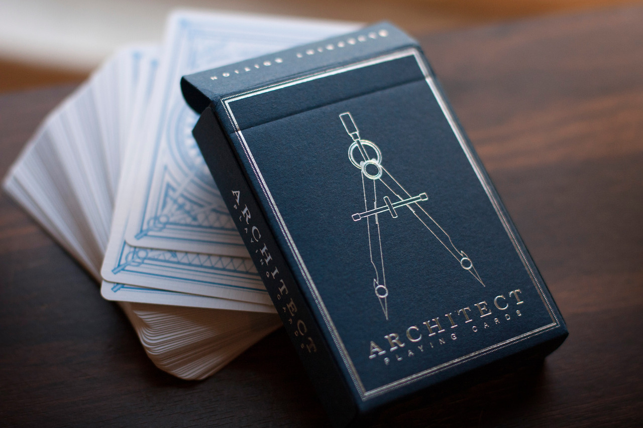 Architect Cards architect playing cards 12 deck brick