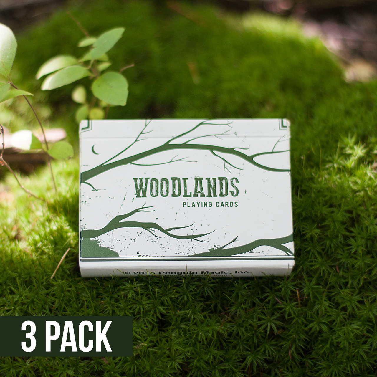 Woodlands Playing Cards 3 Pack