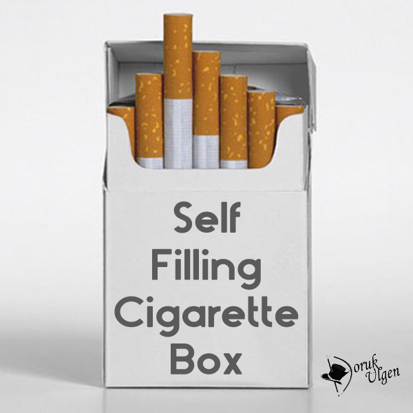 Self Filling Cigarette Box by Doruk Ulgen