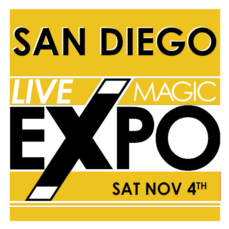 San Diego 2017 Live Magic Expo Saturday November 4th Registration