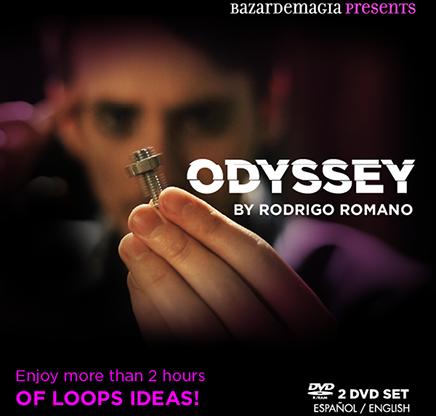 Odyssey by Rodrigo Romano and Bazar de Magia ( 2 DVD SET ) ( Fixed Link )