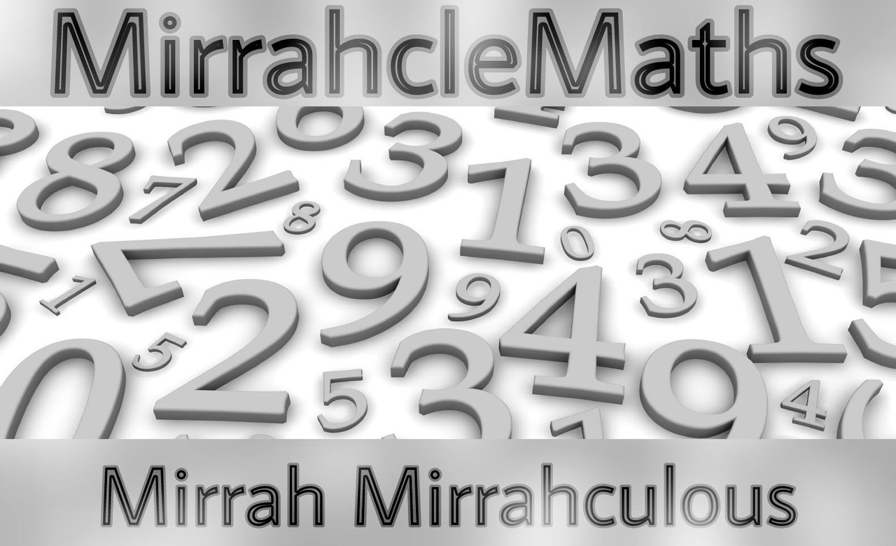 MirrahcleMaths by Mirrah Mirrahculous + PDF ( For Android and Apple )