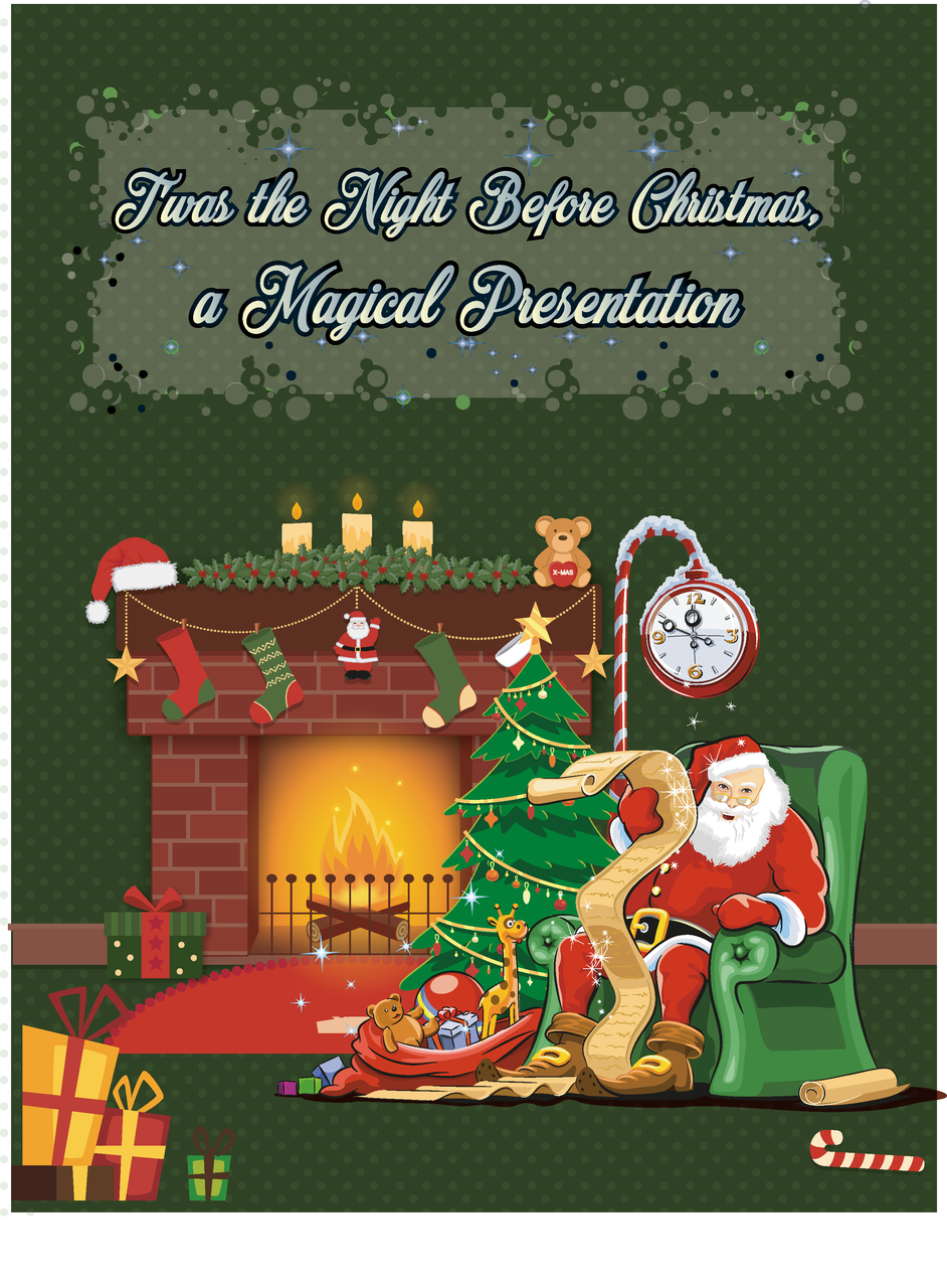 Twas the night before chrismas a magical presentation book today when you order twas the night before chrismas a magical presentation youll instantly be emailed a penguin magic gift certificate m4hsunfo