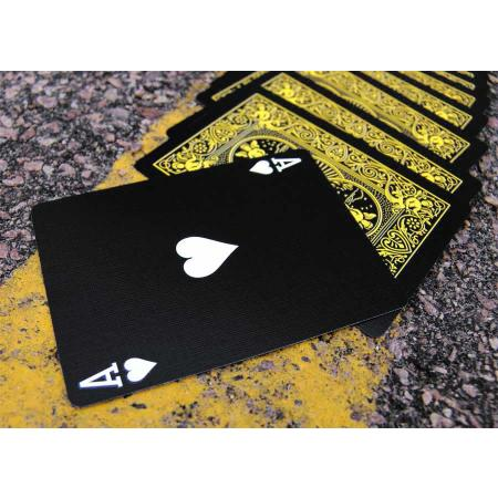 The Black Scorpion Deck Black & Yellow