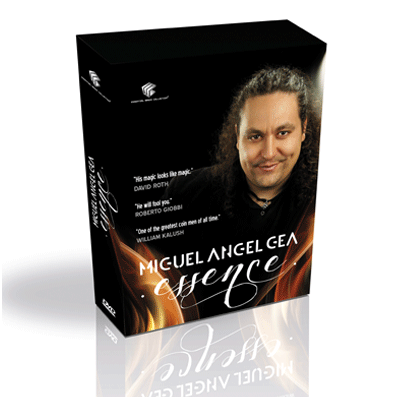 Essence (4 DVD Set) by Miguel Angel Gea