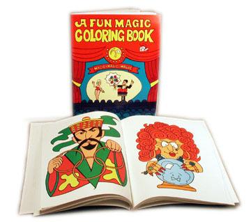 Magic Coloring Book Large Magic Coloring Book