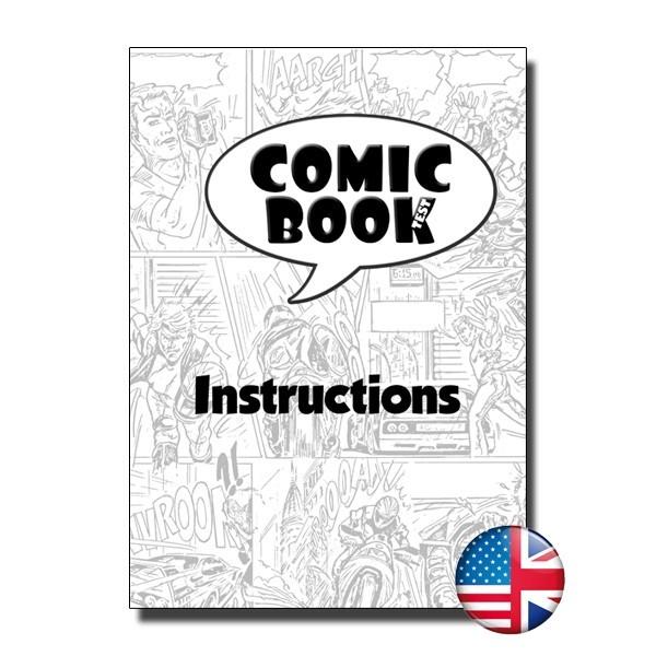 Comic Book Test By Yoan Tanuji & Guillaume Bienne Book
