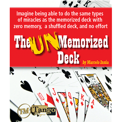 Unmemorized Deck by Marcelo Insua ( Idioma Español )