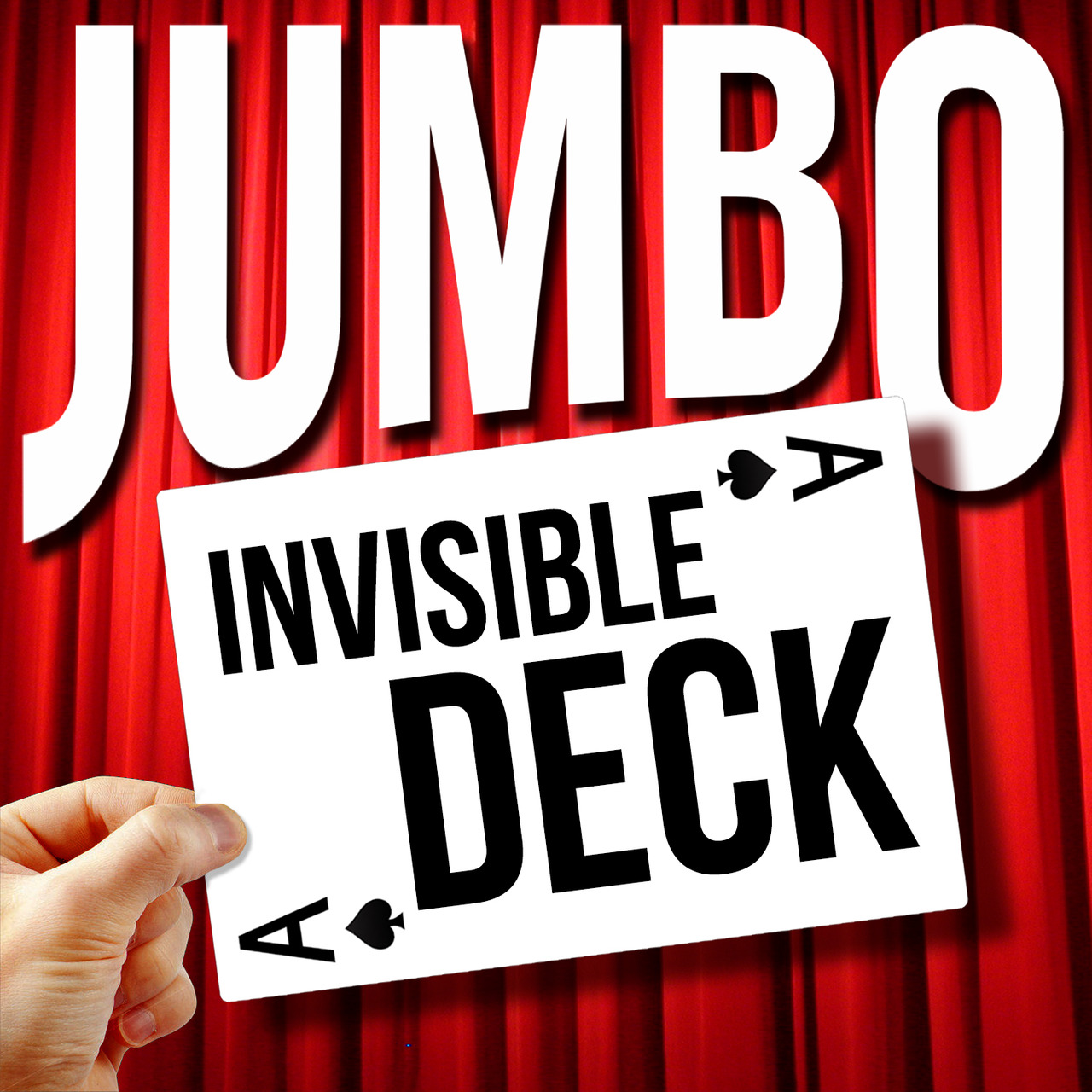 Deck Jumbo Jumbo Invisible Deck Pro