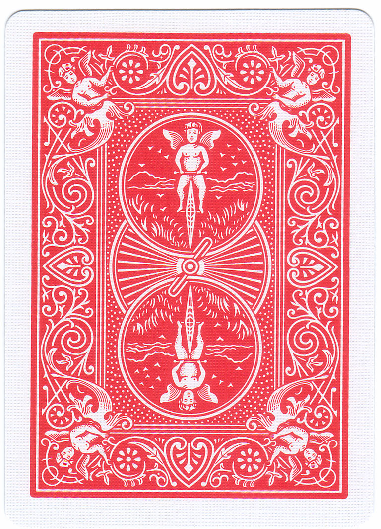 Card Deck With Guidebook By: Bicycle Deck Red