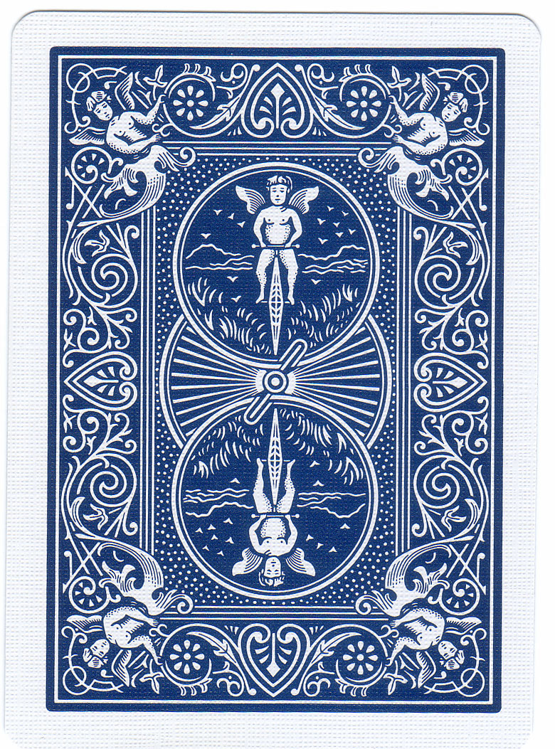 Card Deck With Guidebook By: Bicycle Deck Blue