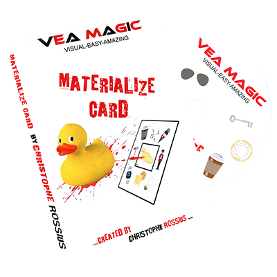 Card materialize put image tip