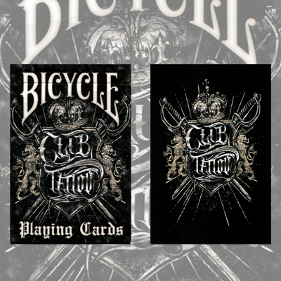 Bicycle club tattoo cards by uspcc for Bicycle club tattoo deck
