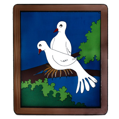 dove frame by siam magic