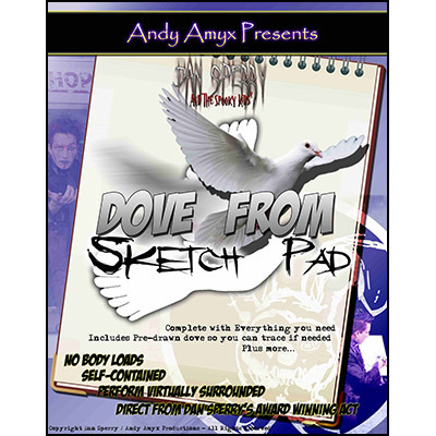 Dove from Sketch Pad (With DVD) by Dan Sperry and Andy Amyx