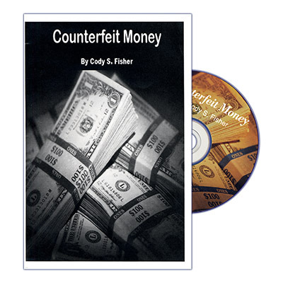 Counterfeit Money (Props and DVD) by Cody Fisher - DVD