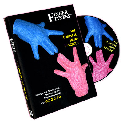 Finger Fitness The Complete Hand Workout By Greg Irwin Dvd