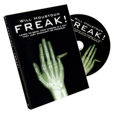 """Today, when you order """"Freak by Will Houston - DVD"""", you'll instantly be emailed a Penguin Magic gift certificate. You can spend it on anything you like at ..."""