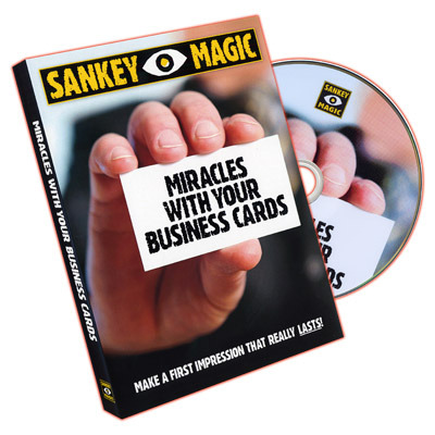 Miracles with your business cards by jay sankey dvd today when you order miracles with your business cards by jay sankey dvd youll instantly be emailed a penguin magic gift certificate colourmoves Gallery