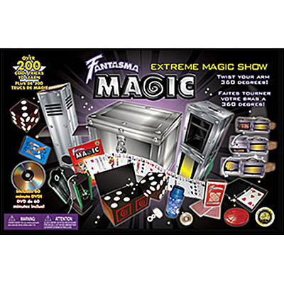 Extreme Magic Sets With Dvd By Fantasma