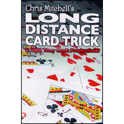 long distance card trick by chris mitchell