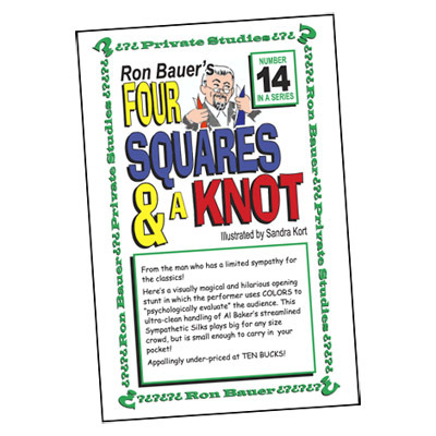 Ron Bauer Series: #14 - Four Squares & A Knot - Book