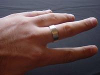 Wizard PK Ring Original (FLAT, GOLD, 18mm) by World Magic Shop