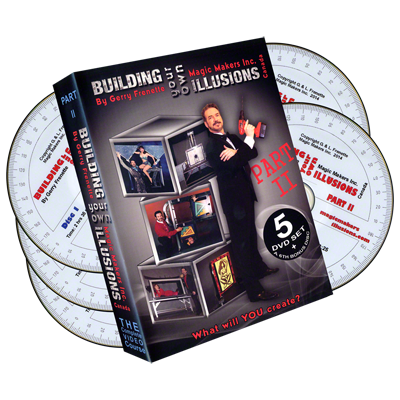 Building your own illusions part 2 the complete video course 6 dvd today when you order building your own illusions part 2 the complete video course 6 dvd set by gerry frenette dvd youll instantly be emailed a malvernweather Choice Image