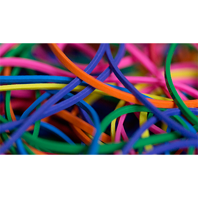 Joe Rindfleisch S Rainbow Rubber Bands Rainbow Pack By