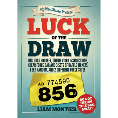 Luck Of The Draw Gimmick And Online Instructions By Liam Montier