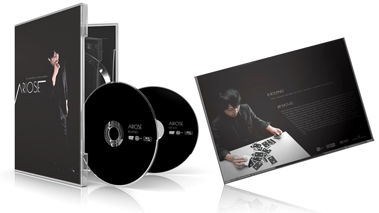Ariose by Yohei Kawabata ( 2 DVD SET )