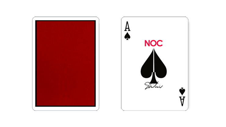 6d1e9c6bb11 Limited Edition NOC x Shin Lim Playing Cards