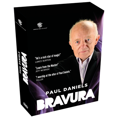 Bravura by Paul Daniels ( 4 DVD SET ) ( Upload Vol.1-2-3 )