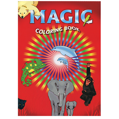 Magic Coloring Book by Vincenzo Di Fatta Magic