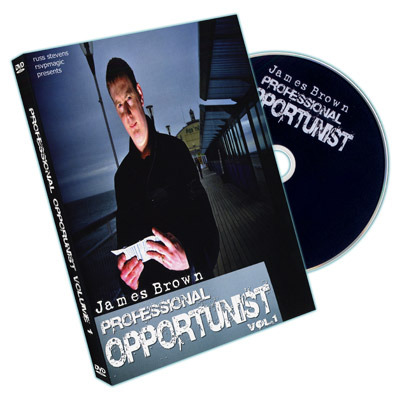 Professional Opportunist by James Brown ( 2 DVD SET )