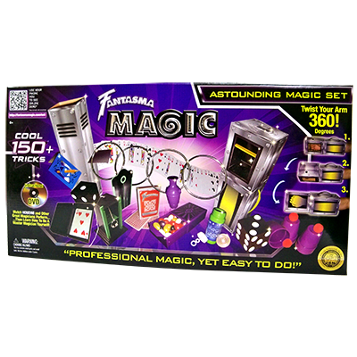 Astounding Magic Set (with DVD) by Fantasma - Magic