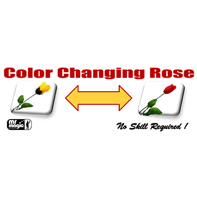 Color changing rose by mr magic for Color changing roses